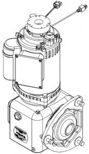 Передний двигатель и редуктор пинспоттера 90XLi QubicaAMF