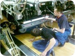 Обучение механиков боулинга